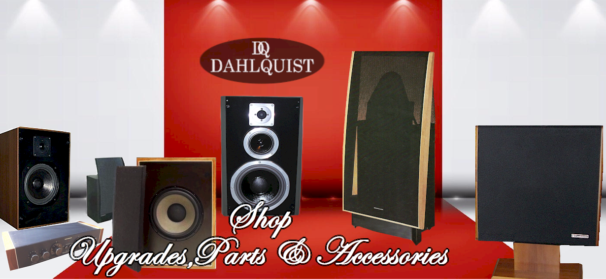 Welcome to Dahlquist Speakers Online Store -